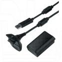 Play & Charge Kit + аккумулятор 4800 XBOX 360 Slim