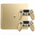 PlayStation 4 Slim 500Gb золото 2 джойстика