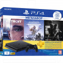 PlayStation 4 Slim 1TB + Detroit + Одни + HZD + 3 мес. РСТ
