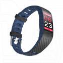 Фитнес браслет Qumann QSB 12 темно синий-черный