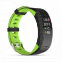 Фитнес браслет Qumann QSB X зеленый-черный