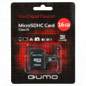 microSDHC 16Gb Qumo Class 10 с адаптером