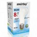 Светодиодная Лампа Smartbuy R63 Е27 8Вт холодный свет
