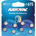 Rayovac 675 (PR44) BL8 упаковка 8шт
