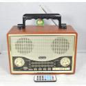 Радиоприемник Kemai MD-1706U (USB\SD\MP3\220V)