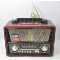 Радиоприемник Kemai MD-1802BT (Bluetooth\USB\SD\microSD\MP3\220V)