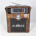 Радиоприемник LUXEBASS A64 (USB\SD\MP3) + фонарик