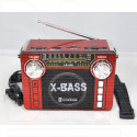 Радиоприемник LUXEBASS A65 (USB\SD\MP3) + фонарик