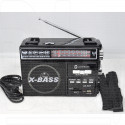 Радиоприемник LUXEBASS A67 (USB\SD\MP3) + фонарик