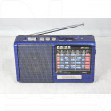 Радиоприемник Meier M-132U (USB\SD\MP3\220V) + фонарик