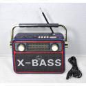 Радиоприемник Meier M-181BT (Bluetooth\USB\SD\MP3\220V)