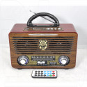 Радиоприемник Meier M-U115 (USB\SD\MP3\220V)