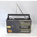 Радиоприемник Meier M-U42 (USB\SD\MP3\220V) + фонарик