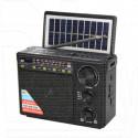 Радиоприемник NNS NS-2033SL (Bluetooth\USB\microSD\солнечная батарея\фонарь\выносная лампа)
