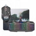 Комплект Defender Reaper MKP-018 (клавиатура + мышь + коврик)