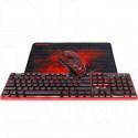 Комплект Redragon S107 (клавиатура + мышь + коврик)