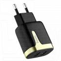 Зарядное устройство 2 USB 2.1A Hoco. C64A