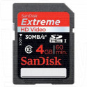 SDHC 4Gb SanDisk Class 10 Extreme HD Video
