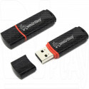 USB Flash 4Gb Smart Buy Crown черная
