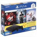 PlayStation 4 Slim 500Gb + 3 игры + подписка на 3 месяца
