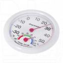 Термометр-гигрометр круглый TH-108