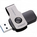 USB Flash 32Gb Kingston Data Traveler Swivl металл 3.0