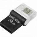 USB Flash 32Gb SmartBuy OTG Poko черная