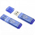 USB Flash 4Gb Smart Buy Glossy синяя