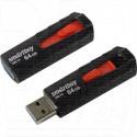 USB Flash 64Gb Smart Buy Iron черный/красный 3.0