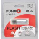 USB Flash 8Gb Fumiko Paris серебро