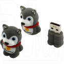 USB Flash 8Gb Smart Buy Wild Series Dog Grey