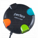USB HUB Perfeo PF-VI-H020 4 порта черный