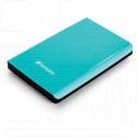 Внешний HDD 1 TB Verbatim Store'n'Go USB 3.0 бирюзовый