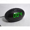 VST 711-4 часы настольные с зелёными цифрами