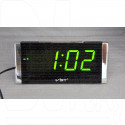 VST 731-2 часы настольные с зелеными цифрами