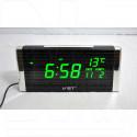 VST 731W-4 часы настольные с ярко-зелеными цифрами