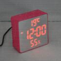 VST 887Y-1 часы настольные с красными цифрами