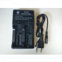 Зарядное устройство для 2-х аккумуляторов VTG-C2 (18650, 26650 и др)