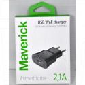 Зарядное устройство USB 2.1A Maverick