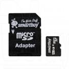 microSD 128Gb Smart Buy Class 10 с адаптером
