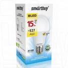 Светодиодная Лампа Smartbuy A60 Е27 15Вт теплый свет