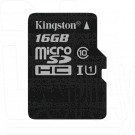 microSDHC 16Gb Kingston Class 10 UHS-I U1 без адаптера