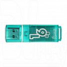 USB Flash 16Gb Smart Buy Glossy Series зеленая