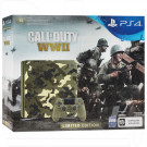 PlayStation 4 Slim 1TB + Call of Duty WWII зеленый камуфляж LE