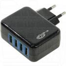 Зарядное устройство 4 USB 4.2A KS-is Forji