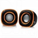 BBK CA-301S черный/оранжевый акустика 2.0