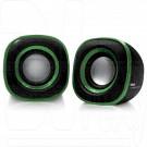 BBK CA-301S черный/зеленый акустика 2.0