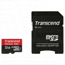 microSDHC 32Gb Transcend Class 10 UHS-I с адаптером