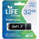 USB Flash 32Gb Life Dubai черная