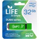 USB Flash 32Gb Life Dubai зеленая